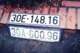 1 biển số ô tô