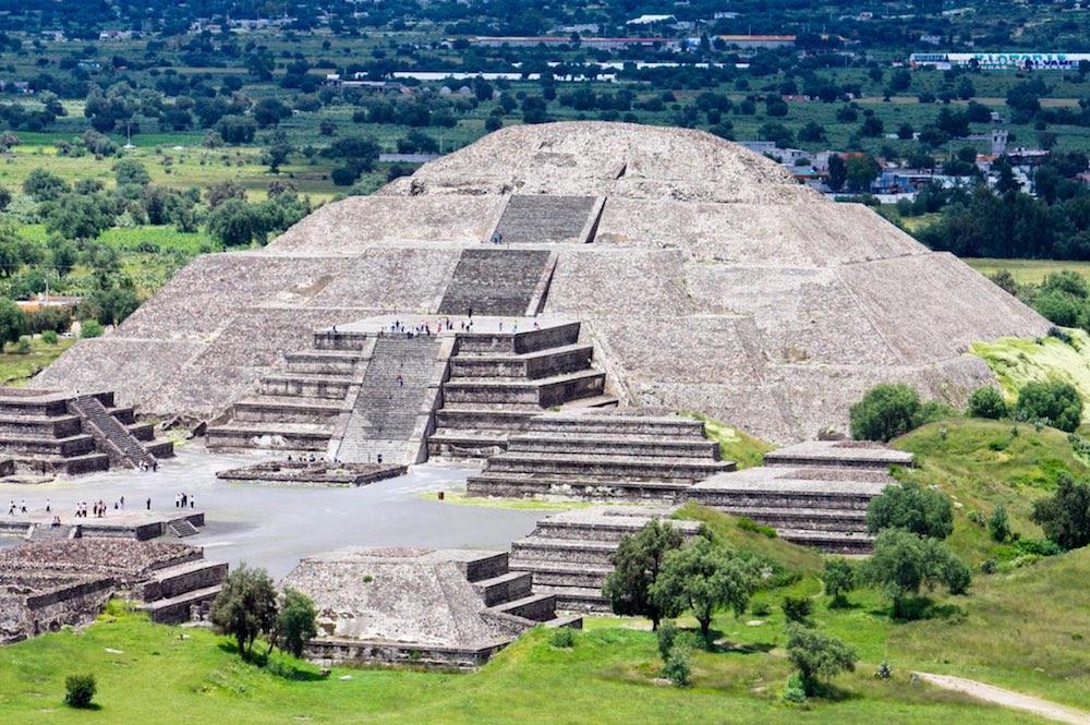 Phát hiện tình cờ cho thấy khu kim tự tháp Teotihuacan là một cơ sở năng  lượng - Trí Thức VN