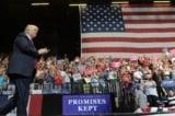 Trump phat bieu tai Iowa