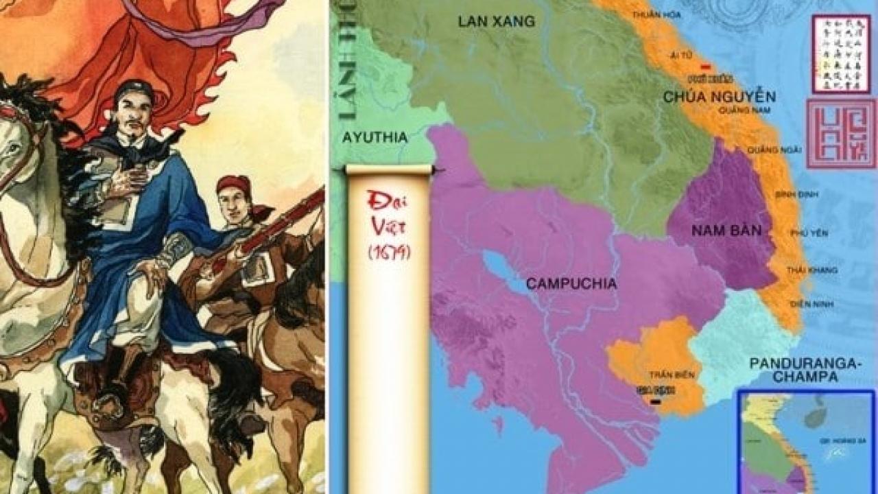 Các đời chúa Nguyễn mở rộng lãnh thổ - P3: Lãnh thổ đến Gia Định