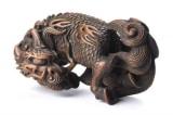 Netsuke - Nghệ thuật Điêu khắc gỗ Nhật Bản đương đại