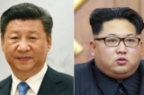 Tap Can Binh va Kim Jong-un