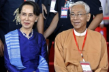 Tong thong Myanmar Htin Kyaw
