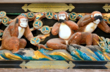 Đi tìm nguồn gốc hình tượng ba chú khỉ thông thái