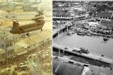 Gần 50 năm trước, Sài Gòn đã chữa cháy bằng trực thăng