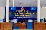 Trung tâm phục vụ hành chính công tỉnh Bình Định
