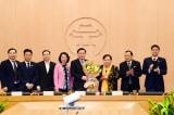 Ông Vương Đình Huệ , Trưởng đoàn đại biểu Quốc hội Hà Nội