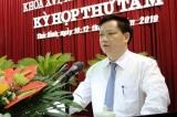 Nguyễn Khắc Thận, phó chủ tịch Thái Bình thăng tiến bất thường