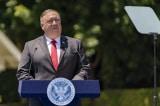 """Truyền thông Trung Quốc gọi Ngoại trưởng Mỹ Pompeo là """"lợn béo"""""""