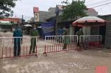 Thanh Hóa: Phong tỏa một khu phố với 309 hộ dân