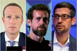 CEO Facebook, Twitter, Google sắp tham gia phiên điều trần