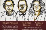 Nghiên cứu về lỗ đen đoạt giải Nobel Vật lý 2020