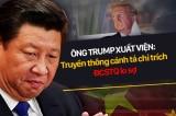 Ông Trump xuất viện: Truyền thông cánh tả chỉ trích, ĐCSTQ lo sợ
