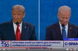 Tranh biện TT: Ông Trump nói vắc-xin COVID-19 sẵn sàng trong vài tuần tới, ông Biden phản bác