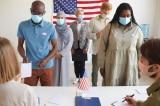 Nhiều cử tri Hoa Kỳ háo hức xếp hàng chờ 11 tiếng để bỏ phiếu