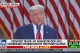 Phóng viên cánh tả bóp méo lời TT Trump về việc New York nhận vắc-xin COVID-19